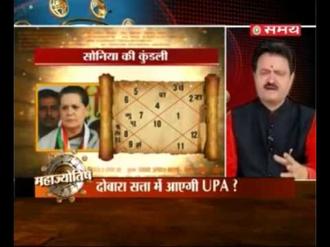 Prediction on Congress Party , Sonia Gandhi , BJP and Narendra Modi ---- ---(samay) 26-4-2014
