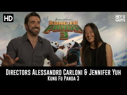 Directors Alessandro Carloni & Jennifer Yuh Exclusive Interview - Kung Fu Panda 3