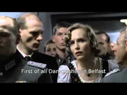 Hitler reacts to Contador's crash in the TDF
