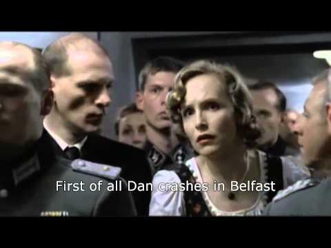 Hitler reacts to Contador's crash in the TDF