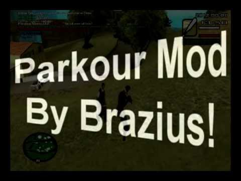 GTA SA Parkour MOD CLEO NEW