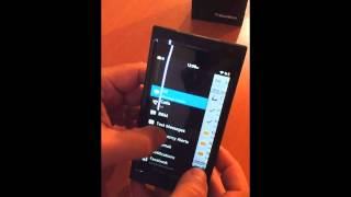As es BlackBerry 10 en funcionamiento