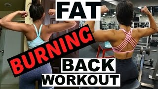 THE BEST FAT BURNING BACK WORKOUT