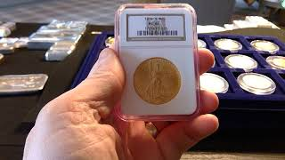 Pre-33 Gold $20 Gold Saint Gaudens Double Eagle Stack