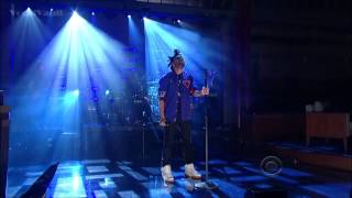 The Weeknd Video - The Weeknd Live @ Late Show With David Letterman - Pretty
