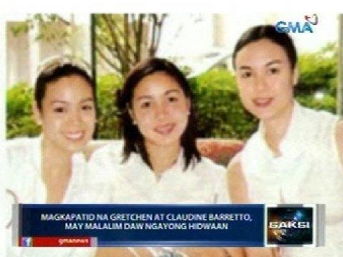 Saksi: Gretchen at Claudine Barretto, may malalim daw ngayong hidwaan