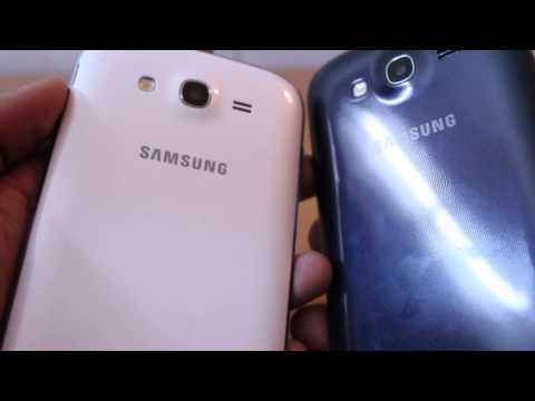 Samsung Galaxy Grand Duos (i9082) Color Comparison - white vs. blue - video