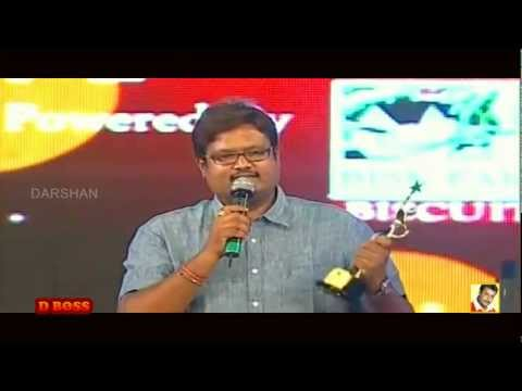 "CHALLENGING STAR ""DARSHAN"" GETS ""BEST ACTOR 2011"" IN TV9 SANDALWOOD AWARDS !!!"