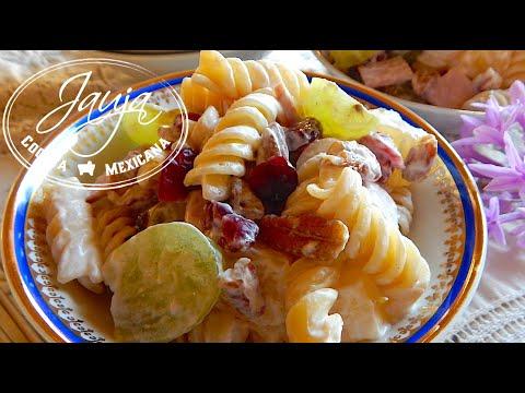 Pasta Fria Navidena  E2 94 80 Jauja Cocina Mexicana Cocina Ya