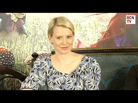 Mia Wasikowska Interview Alice Through The Looking Glass Premiere