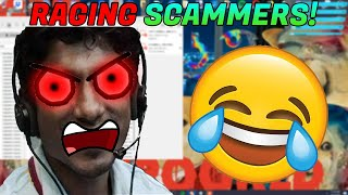 Scammer rage quits when I wipe his PC! [Files Deleted]