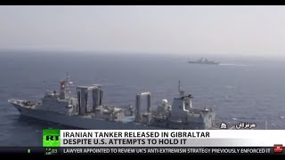 US tries to seize Iran supertanker captured by UK