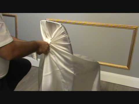 chair covers youtube. Black Bedroom Furniture Sets. Home Design Ideas