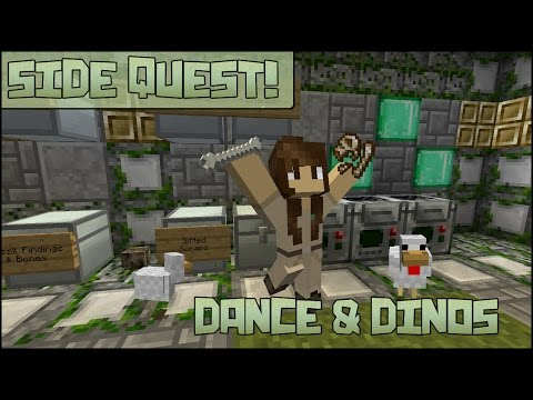 Side Quest! Dinosaur DNA Dance Party!!