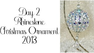 Day 2 of 10 Days of Christmas Ornaments with Cynthialooowho 2013