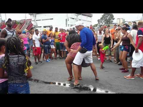 BAILANDO CARNAVAL de Panama 2015