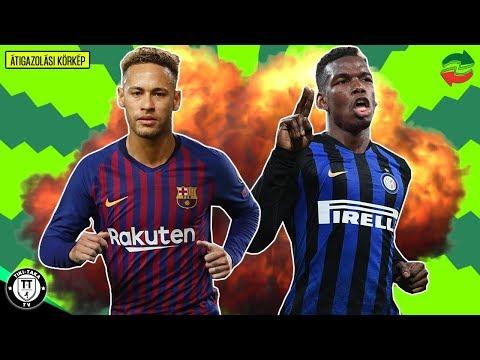 Neymar újra A Barcelonában? Pogba Az Interben? / + Isco, Eriksen és Fabinho!