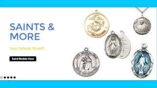 Catholic Gifts - www.saintsandmore.com