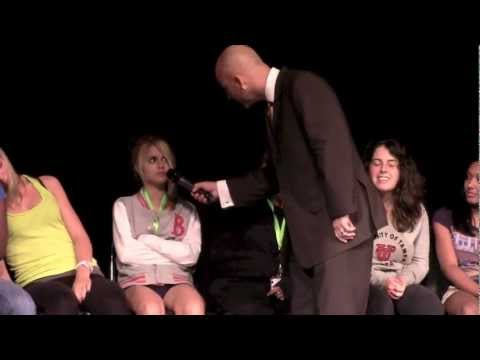 College Hypnotist Erick Kand Comedy Hypnosis Show video