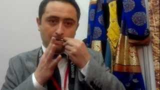 Temir Khomuz! Shaman Laso MONGUSH from Tuva and Journalist Dursun Ekrem ER from Turkey...