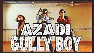 Azadi Gully Boy Dub Sharma Divine Dance Choreography Ashwin Yadav Artistic Motion Studio
