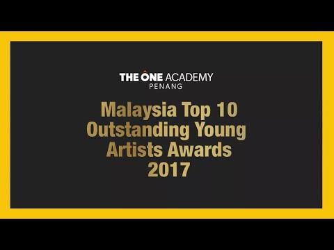 Malaysia Top 10 Outstanding Young Artist Awards 2017 Penang