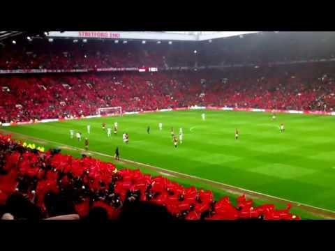 Manchester United vs Swansea City 12/05/2013