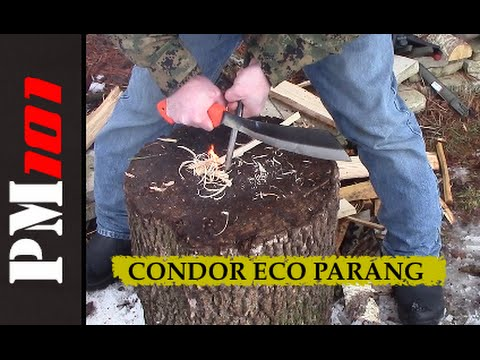 Condor Eco Parang: Surprisingly Effective Bushcraft Tool!  - Preparedmind101