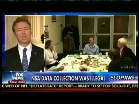 Sen. Rand Paul Appears on Fox's 'On the Record' with Greta Van Susteren - May 7, 2015