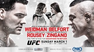 UFC 187: Weidman vs. Belfort preview