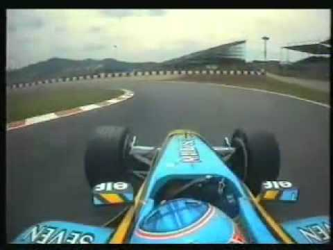 Jenson Button On Board Spain 2002