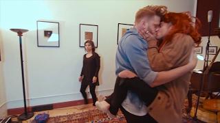 Mitch Grassi And Scott Hoying Kissing (Scömìche Kisses)