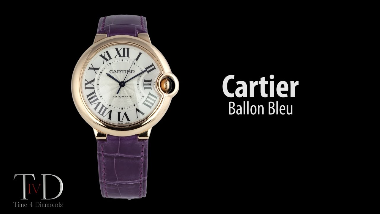 Cartier Gold Ballon Bleu Watch Cartier Ballon Bleu Rose Gold