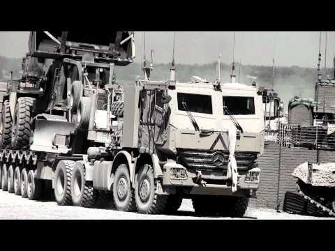 Afghan War Canadian Forces Actros Armoured Truck AHSVS Mercedes-Benz Daimler Unimog