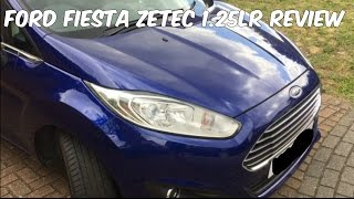 2015 Ford Fiesta Zetec 1.25Lr Car Review - My First Car