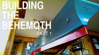 "Making a 13-foot R/C Aircraft Carrier from Scratch - ""Building the Behemoth,"" Part 1"