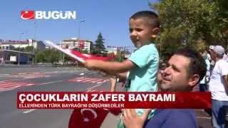 İSTANBUL'DA COŞKULU 'ZAFER BAYRAMI'