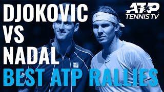Rafael Nadal vs Novak Djokovic: Best Ever ATP Shots & Rallies!