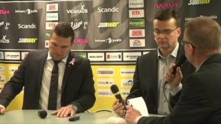 31.10.2105 SaiPa-Sport lehdistötilaisuus