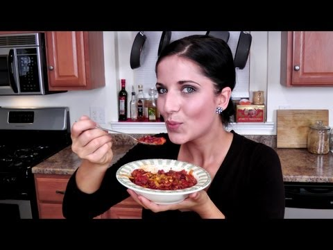 Homemade Chili Recipe   Laura Vitale   Laura In The Kitchen Episode 217