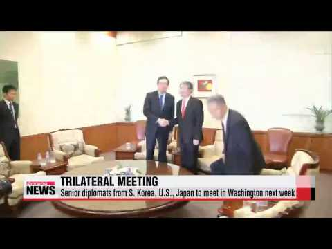 Senior diplomats from S. Korea, U.S., Japan to meet in Washington next week   한•