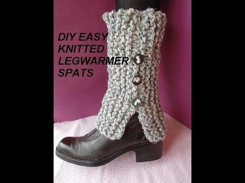 Free knitting pattern: Baby leg warmers pattern #4