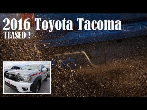 2016 Toyota Tacoma, planning to reveal at the 2015 North American International Auto Show in Detroit