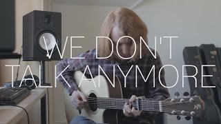 Download Lagu Charlie Puth ft. Selena Gomez - We Don't Talk Anymore - Fingerstyle Cover By James Bartholomew Gratis STAFABAND