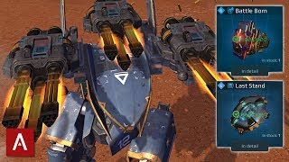 The Ultimate Shredder Machine - Falcon Avengers With Battle Born + Last Stand | War Robots