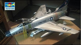 Trumpeter 1/32 F-100D Super Sabre Complete Build