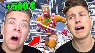 500€ DEATHRUN vs AVIVEHD in Fortnite Battle Royale !
