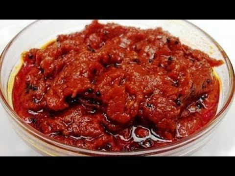 Ginger Pickle Home Made | Allam Chutney Recipe (అల్లం పచ్చడి) | Ginger Pickle Recipe