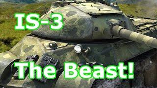 The Beast! IS-3 (tier VIII Soviet heavy) (World of Tanks Xbox One)