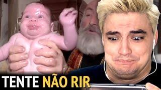 DESAFIO TENTE NÃO RIR - PAREM DE TORTURAR BEBÊS! [+13]